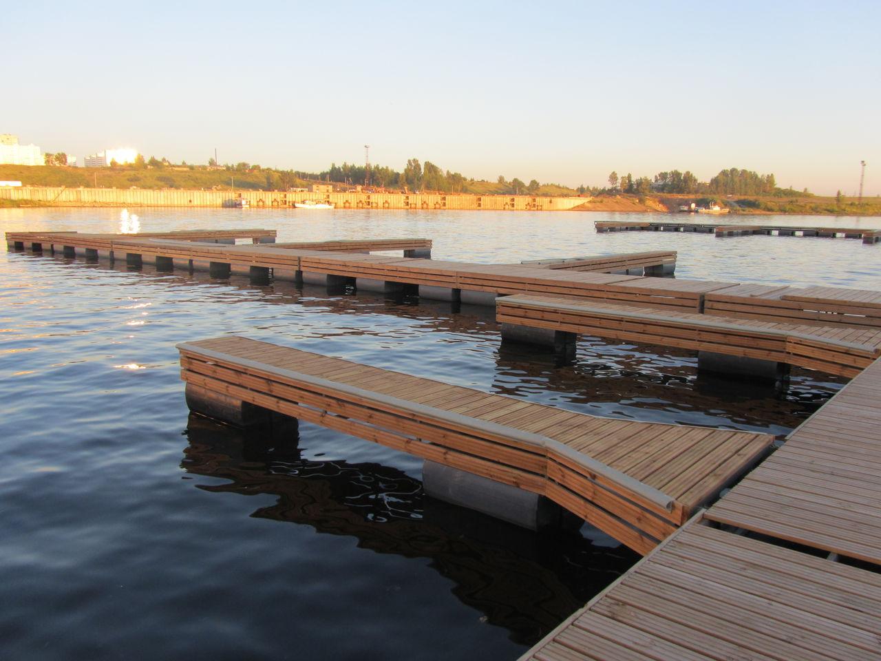 Как сделать плавучий мостик